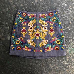 Boutique Mini Skirt